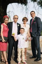 druhá svagrová s rodinou + svokrovci