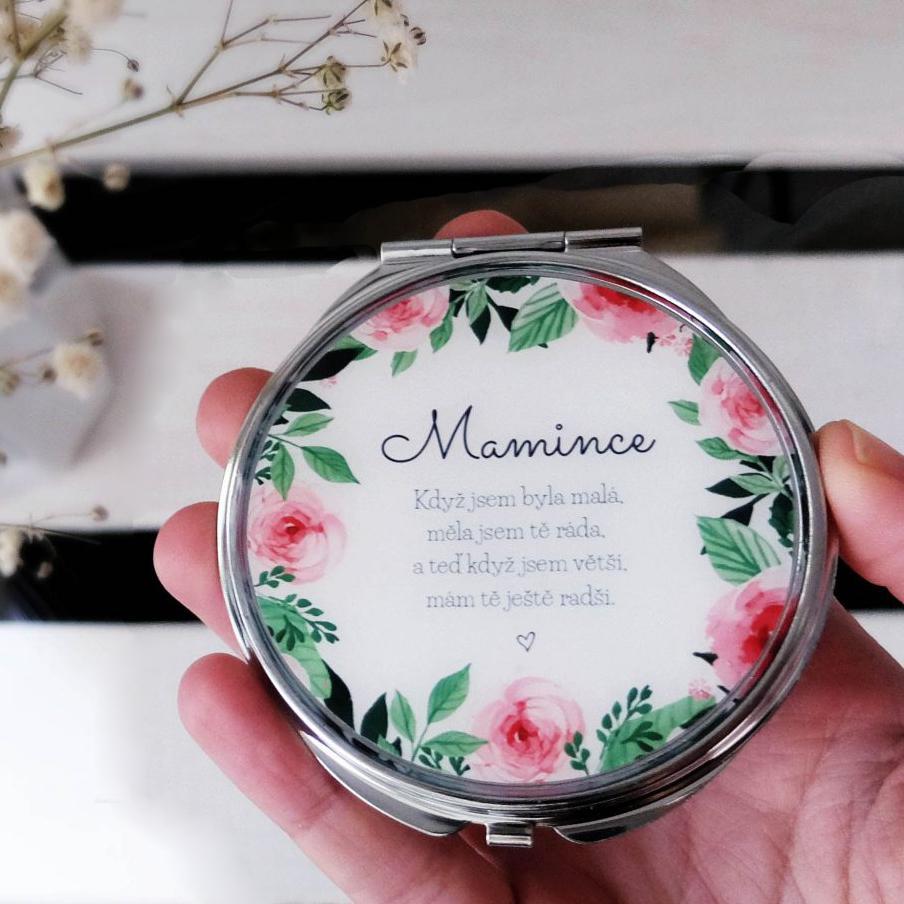 Svatební kolekce 2018 - Den maminek se blíží, všechna zrcátka pro maminky mám na eshopu skladem k odeslání ihned.