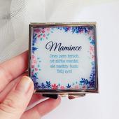 Zrcátko pro maminku ženicha či nevěsty,