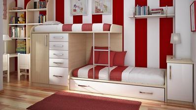 Dětský pokoj s málem místa