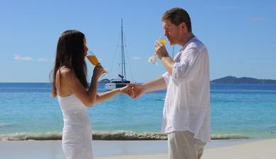 prípitok s čerstvým mango džúsom :)