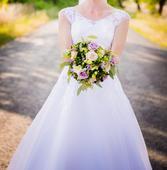 Krajkové svatební šaty Madora vel. 36-38, 37