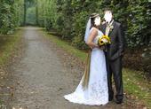 Vyšívané svatební šaty, romantické se šněrováním, 40