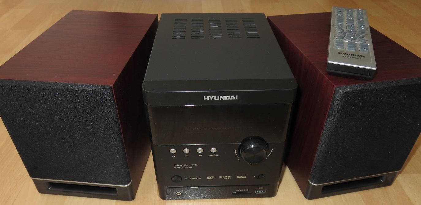 Hyundai dvd micro system - Obrázok č. 1