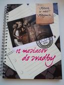 Kniha 12 mesiacov do svadby,