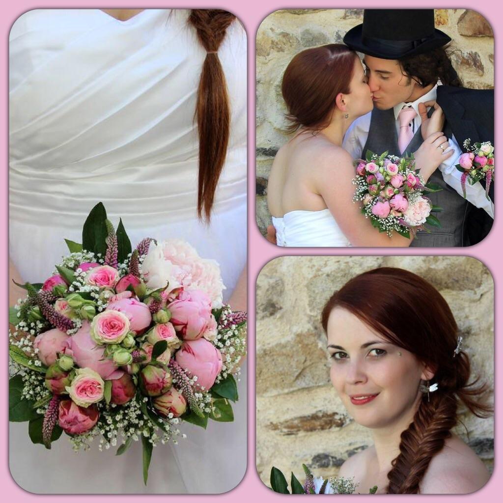 Dneska je to přesně rok od svatby! Tak teď už jen aby se splnil náš největší sen! - Obrázek č. 1