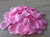 Plátky květů růžové ,