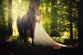 krásná nevěsta Tereza