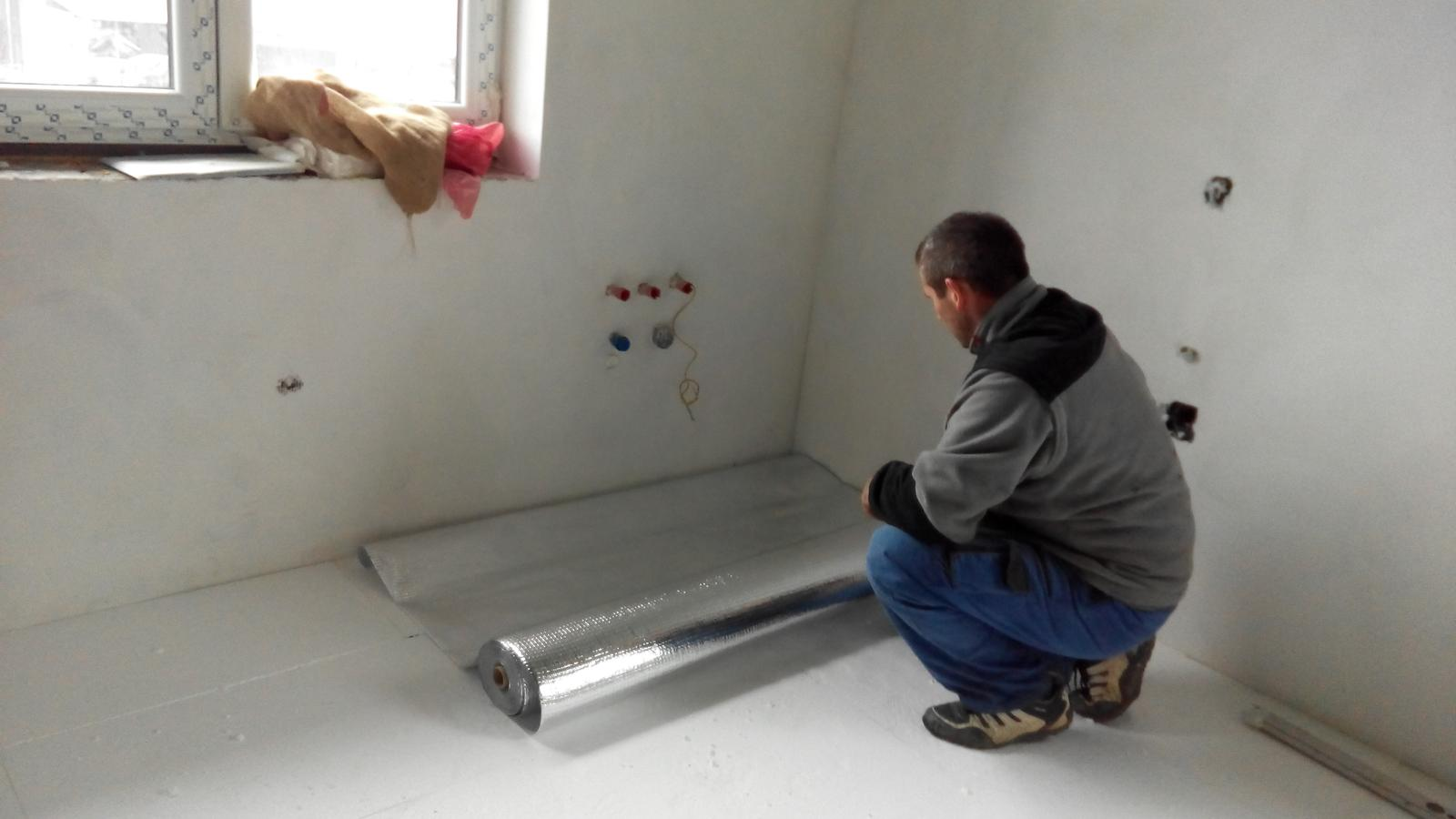 príprava na podlahové kúrenie - Obrázok č. 1