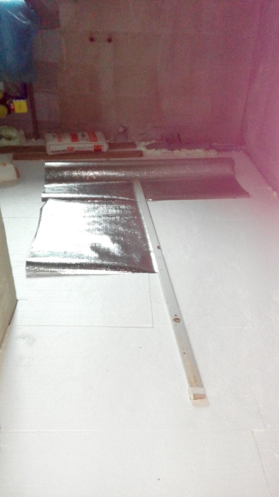 príprava na podlahové kúrenie - Obrázok č. 3