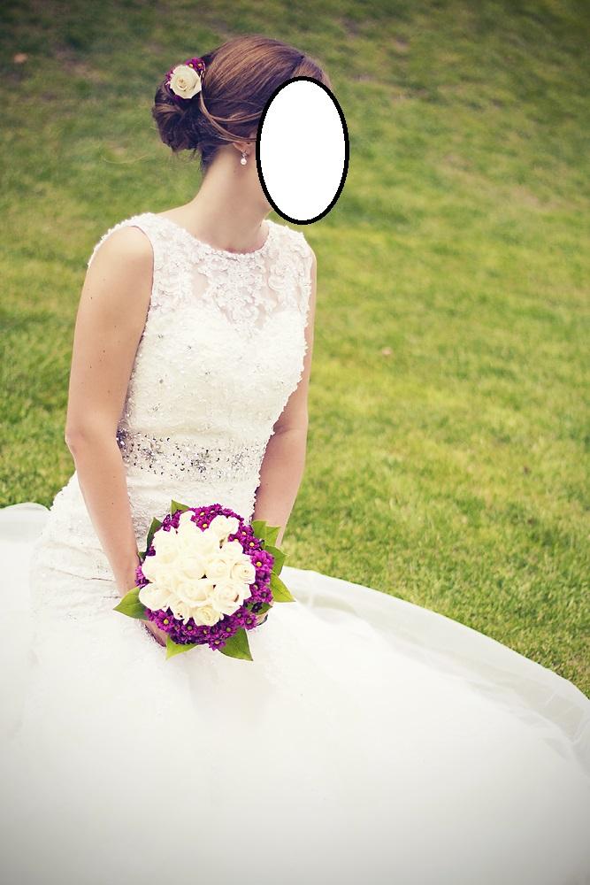 Svatební šaty - slonová kost, vel. 38 - Obrázek č. 4