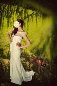 Svatební šaty Enzoani Ghanzi, barva ivory, vel. 36, 36