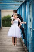 Retro svadobě šaty a lá 50.roky , 36