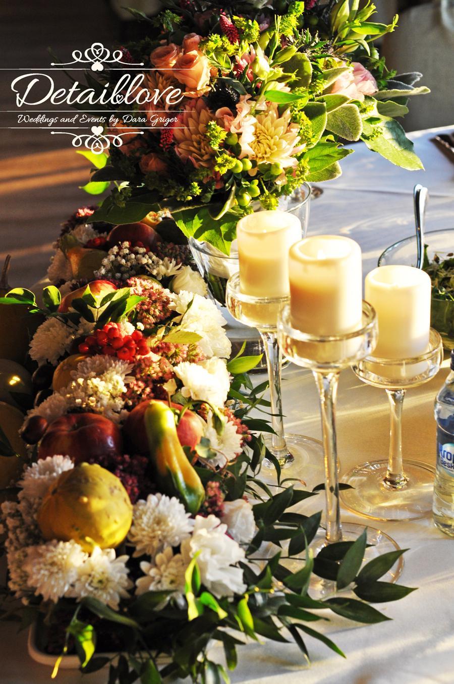 Martynka a Arek a ich rustikálna jesenná svadba - Kvetinové dekorácie …www.detaillove.com