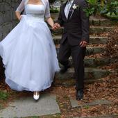 Svatební šaty vel. 38-44, 40