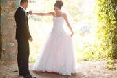 Romantické ružové svadobné šaty, 34