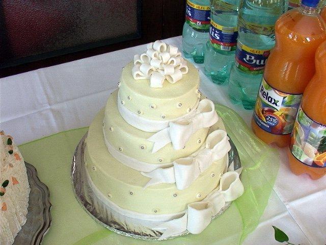 Janka{{_AND_}}Janko - svadobná torta