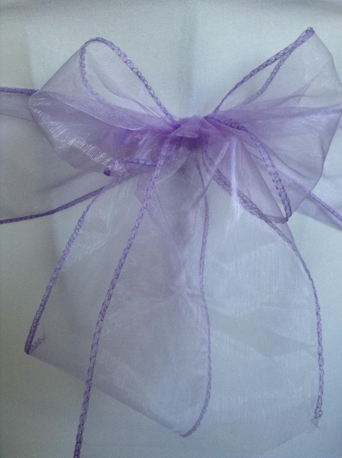 Prenájom mašle - fialová - Obrázok č. 1