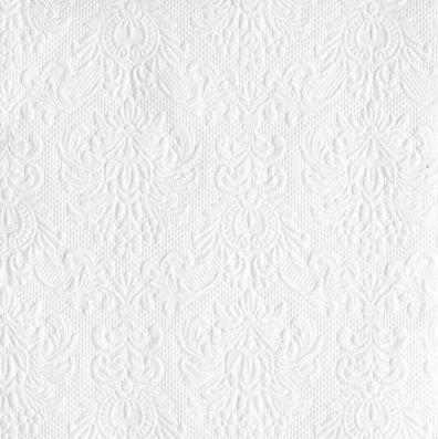 Servítky reliéfne biele 33x33cm - Obrázok č. 1