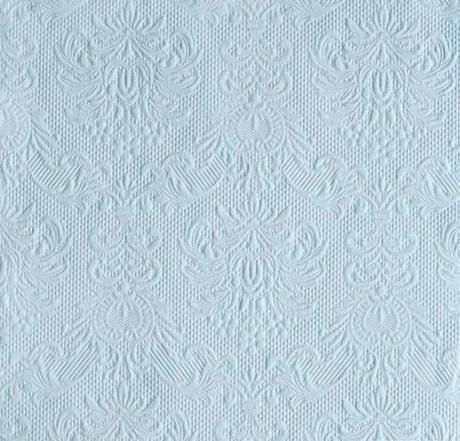 Reliéfne servítky light blue v rozmere 33cm x 33cm - Obrázok č. 1