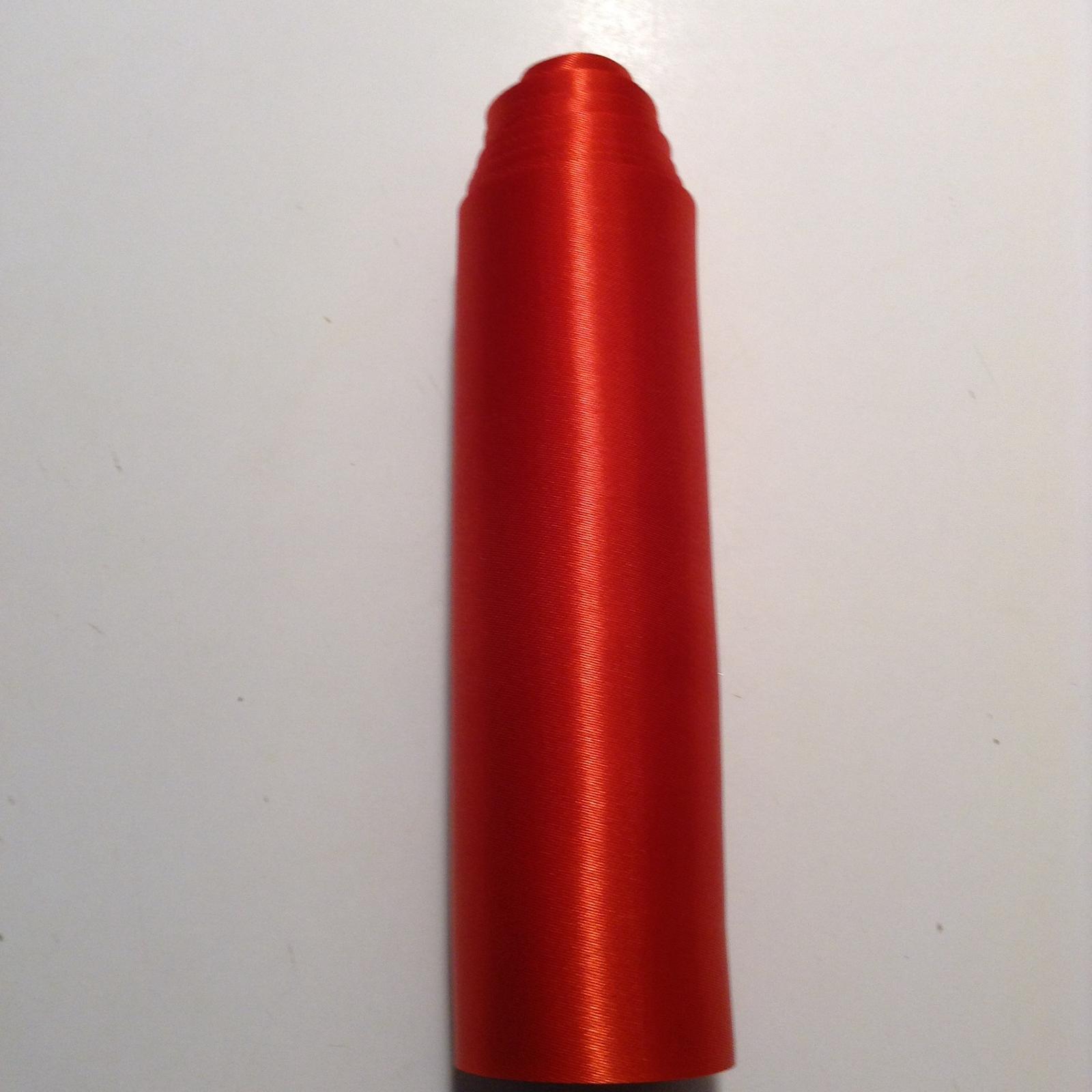 saténová stuha červená - Obrázok č. 1