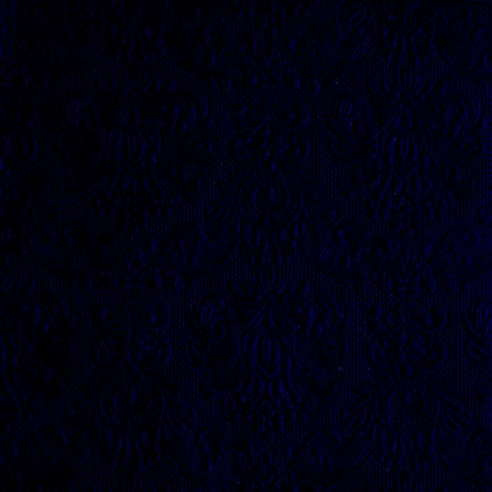 Luxusné reliéfne servítky40 x 40cm - modrá - Obrázok č. 1
