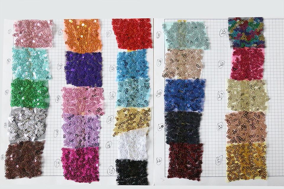 Látka metráž glittery - rôzne farby - predaj - Obrázok č. 2