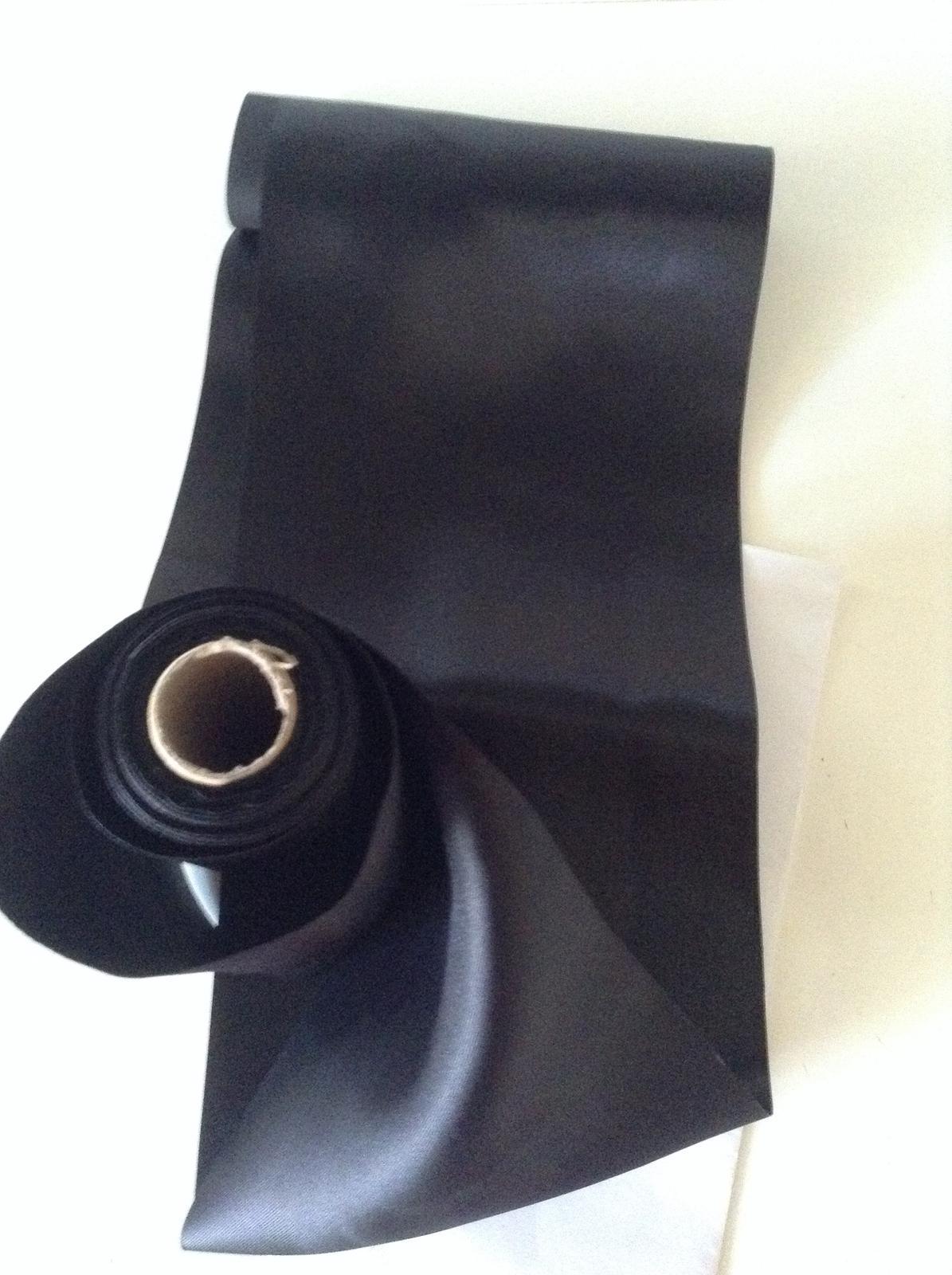 Predaj stuha saténová čierna - Obrázok č. 1