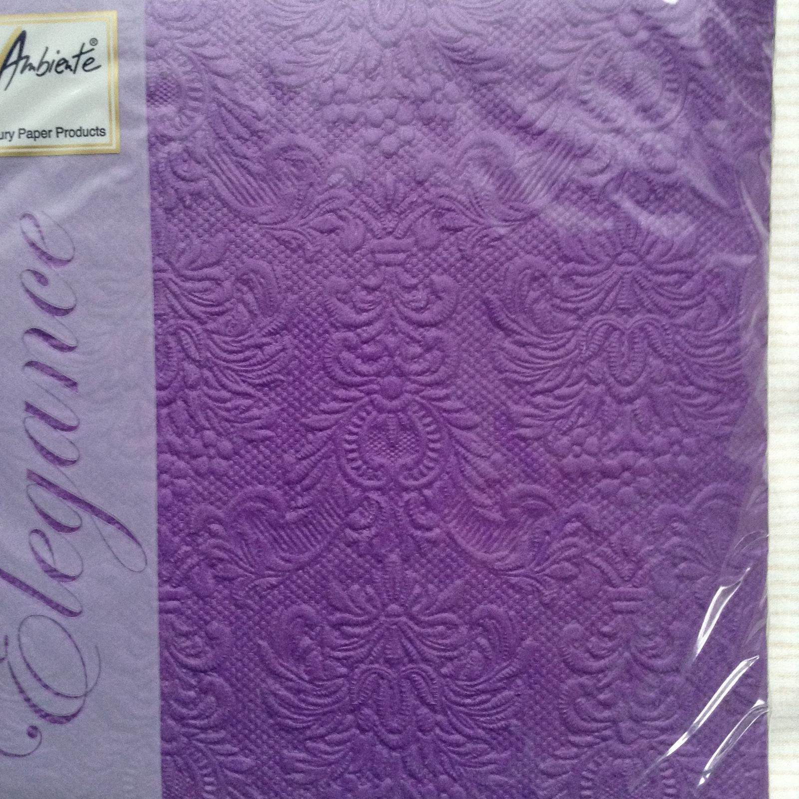 Luxusné servítky z netkanej textílie  - Obrázok č. 1