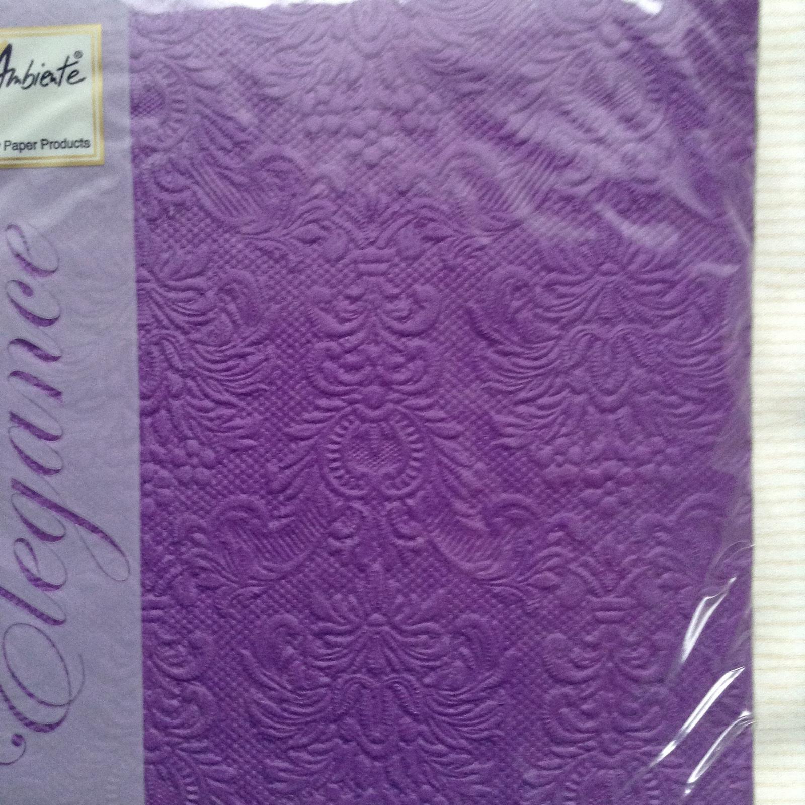 Luxusné servítky z netkanej textílie  - Obrázok č. 2