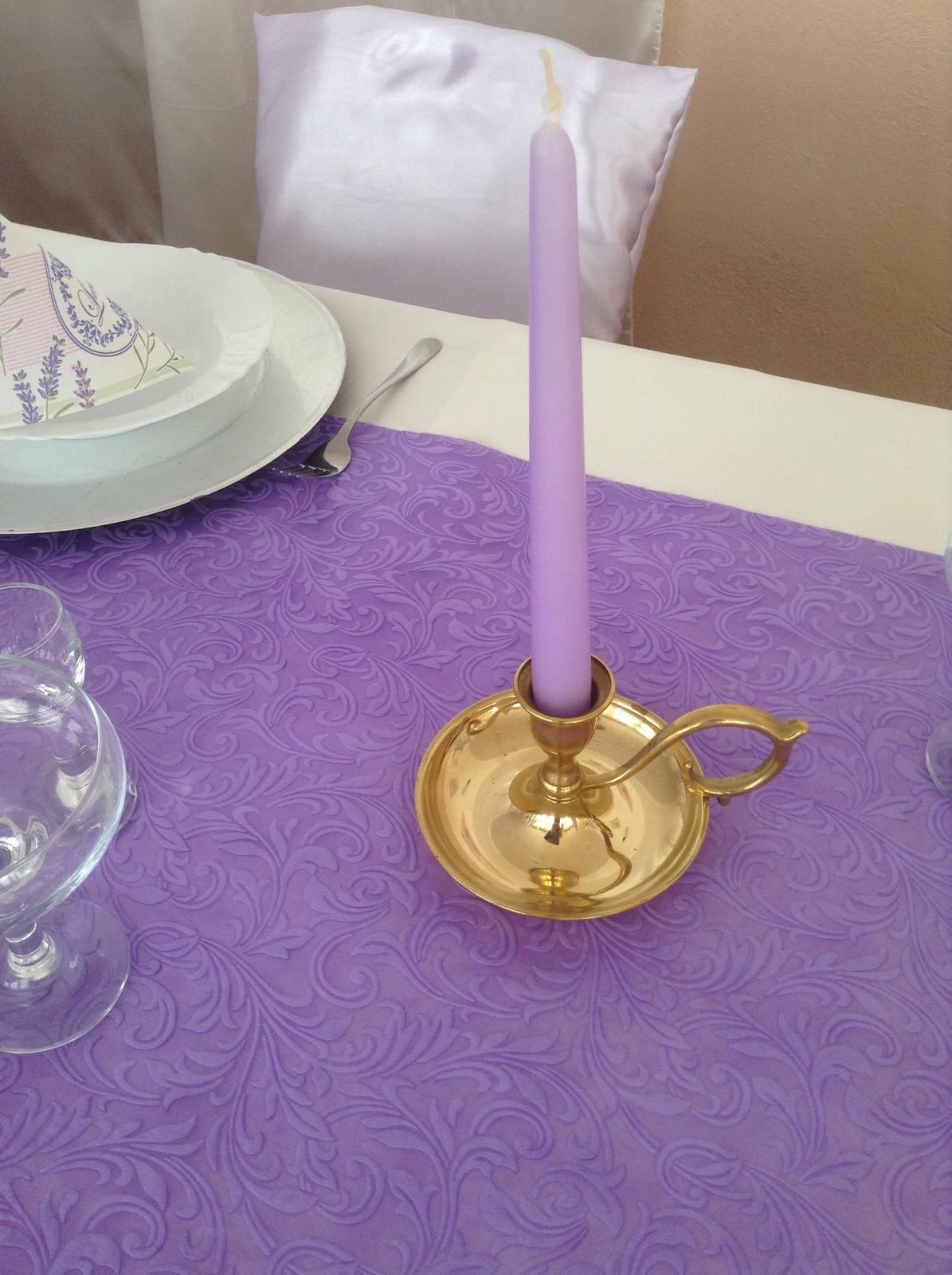 Stojan na sviečku Zlatý - Prenájom - Obrázok č. 1