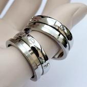 Snubní prsteny chir. ocel otočné,