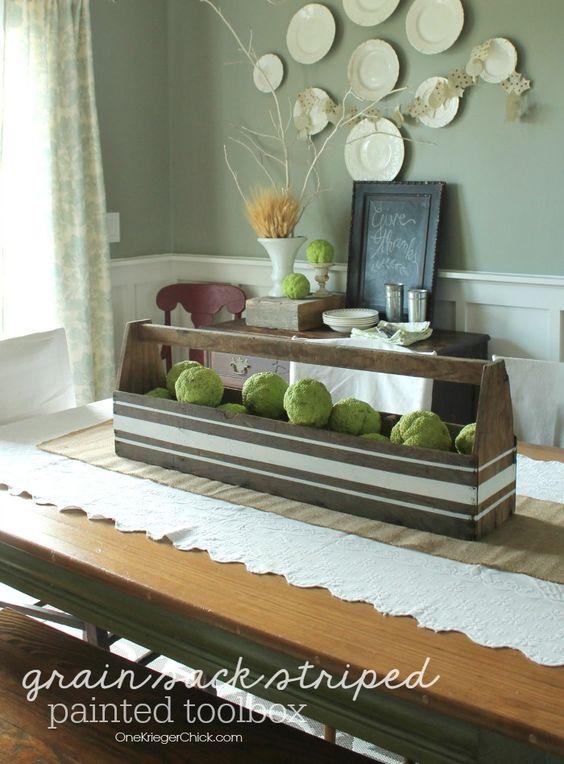 Debničky, drevo - Inšpirácie - Krásne sú tie pásiky aj takto, musím vyskúšať niekedy :)