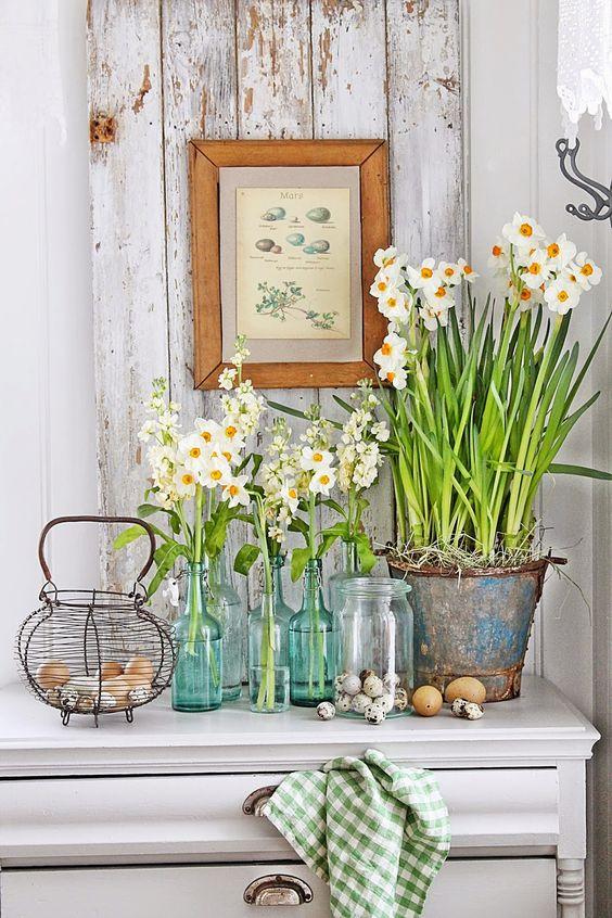 Jar, Veľká noc Dekorácie - DIY nápady - Obrázok č. 33