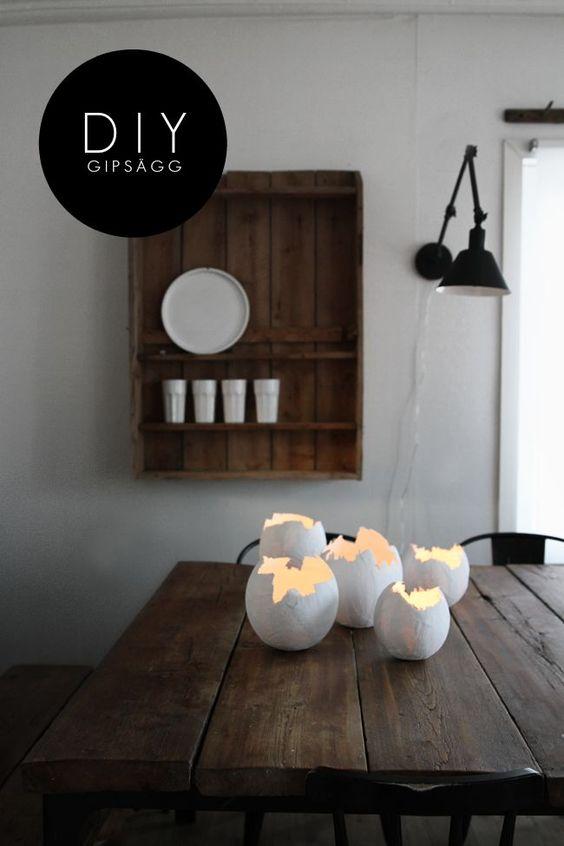 Jar, Veľká noc Dekorácie - DIY nápady - http://biancaswohnlust.blogspot.sk/2015/03/easter-diy.html