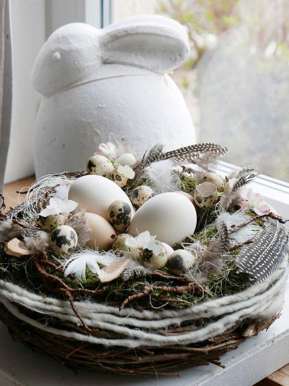Jar, Veľká noc Dekorácie - DIY nápady - Obrázok č. 720