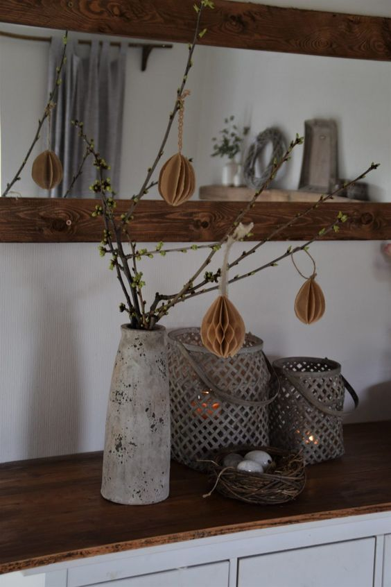 Jar, Veľká noc Dekorácie - DIY nápady - https://elas-dekoideen.de/diy-filtertueten-ostereier/