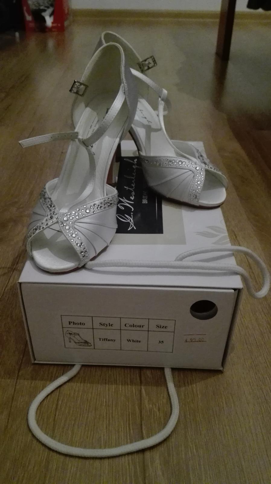 Svadobne topánky Tiffany, G. Westerleigh - Obrázok č. 1
