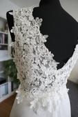 Popolnočné šaty - ivory,