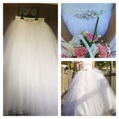 Svatební sukně vel.36-38, 38