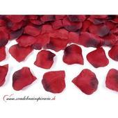 Lupene ruží červené - balenie 500 ks,