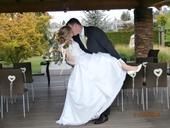 Princeznovské svatební šaty značky Sposa Toscana, 44