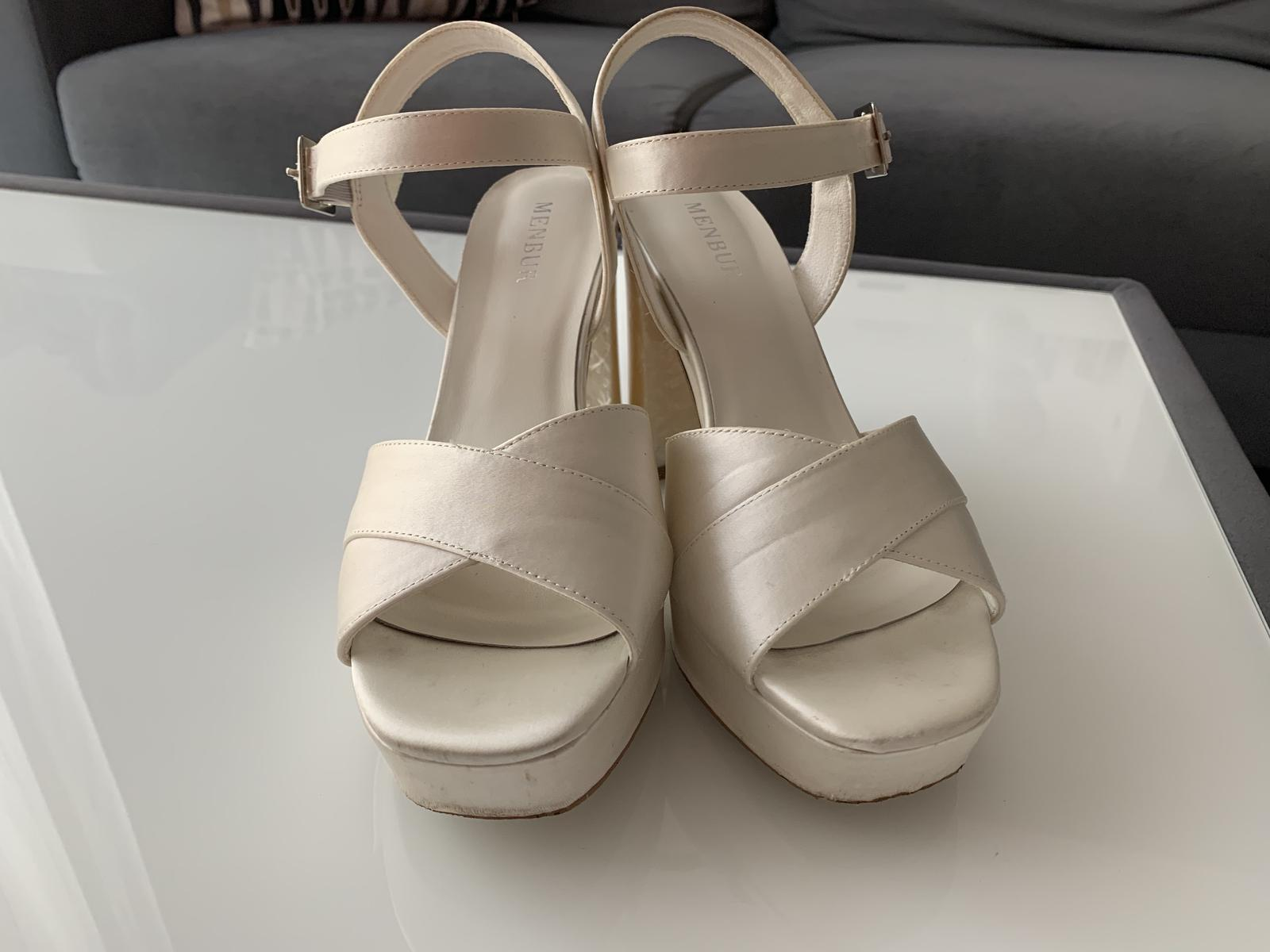 Svatební boty Menbur velikost 38 - Obrázek č. 4