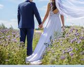 Originální svatební šaty s odhalenými zády, 36