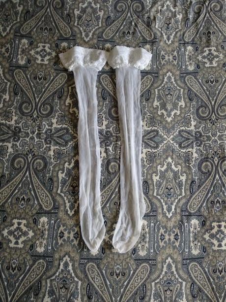 Bílé samodržící punčochy - Obrázek č. 1