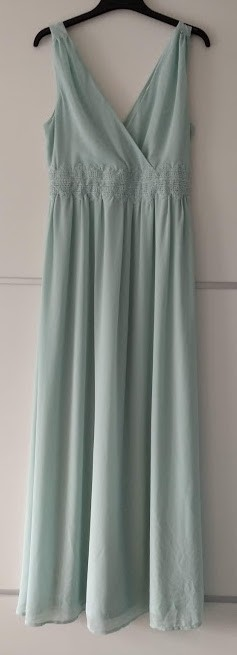 Dlouhé mint šaty - Obrázek č. 1