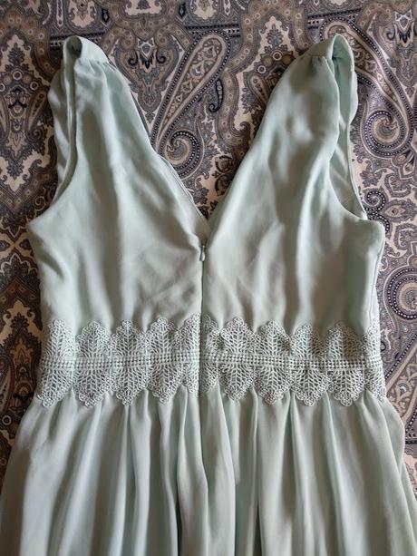 Dlouhé mint šaty - Obrázek č. 3