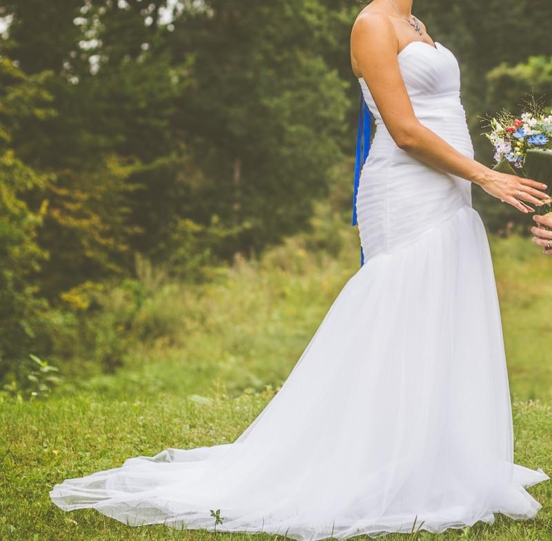 Svatební šaty, vhodné i pro těhotné - Obrázek č. 3