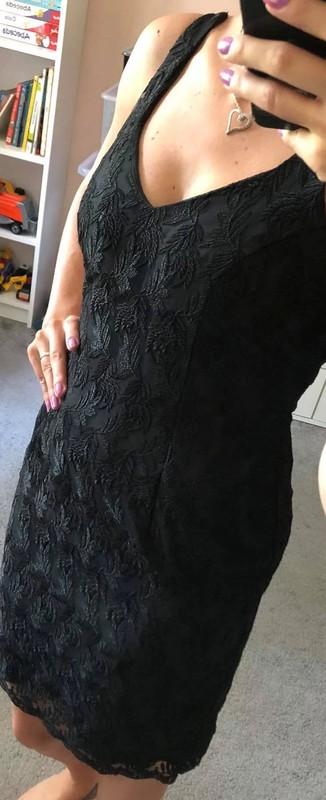 🌼Černé šaty, vel. S-M🌼 - Obrázek č. 1