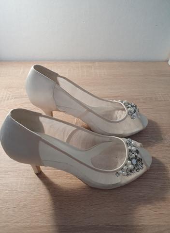 Svadobné topánky - Menbur - Obrázok č. 1